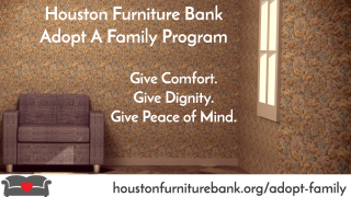 """Adopt a Family"" Program For The Holidays (Houston Furniture Bank)"