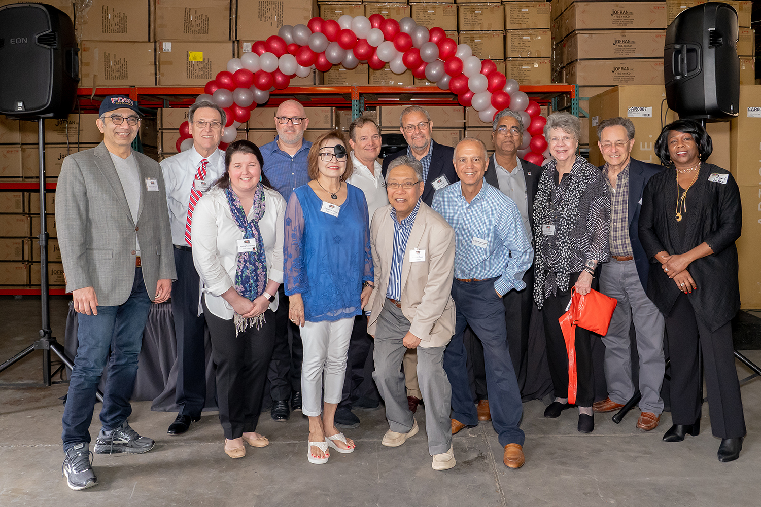 Members of the Houston Furniture Bank Board